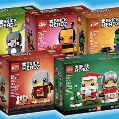 All 2018 Seasonal LEGO BrickHeadz Revealed