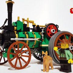 Amazing MOCs – Old Workhorse Traction Engine