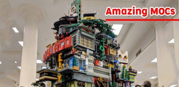 Amazing MOCs – NINJAGO Rolling City