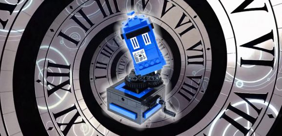 Amazing MOCs – Flying Kinetic LEGO TARDIS