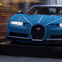 Life-sized LEGO Technic Bugatti Arrives In The UK