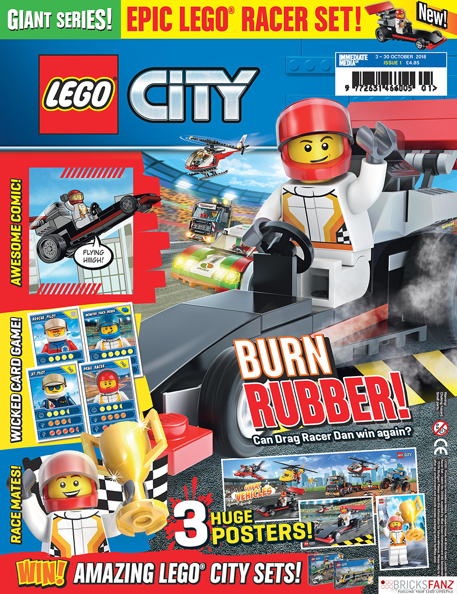 new lego giant series magazine out now bricksfanz. Black Bedroom Furniture Sets. Home Design Ideas