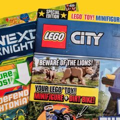 LEGO Magazines October Round-up Continued