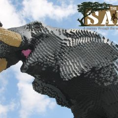 Great Brick Safari Comes To Twycross Zoo