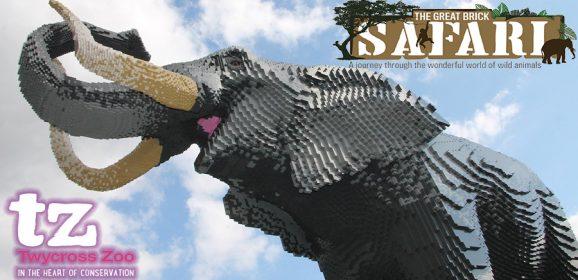 Twycross Zoo Great Brick Safari Opens Tomorrow