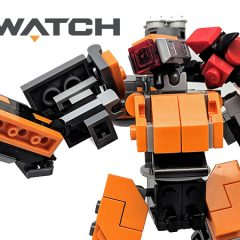 75987: LEGO Overwatch Omnic Bastion Set Review