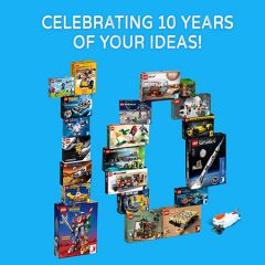 LEGO Ideas 10 Years Of Your Ideas