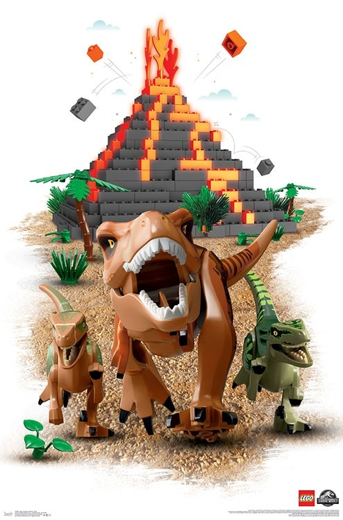 Lego Jurassic World Getting A Poster Collection Bricksfanz