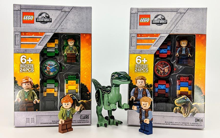 LEGO Jurassic World Watches Review | BricksFanz
