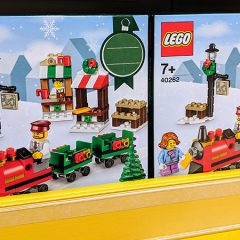 Last Years LEGO Christmas Train Reappears At Asda