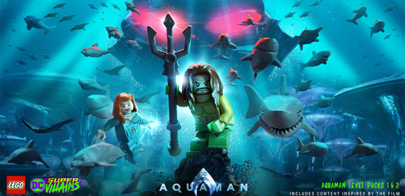 LEGO DC Super-Villains Aquaman DLC Out Today