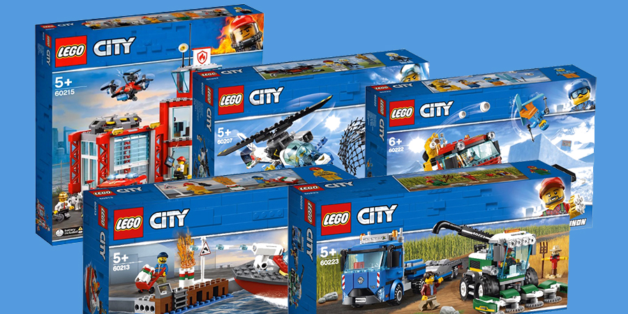 LEGO CITY ADVENTSKALENDER 2019 BAUANLEITUNG