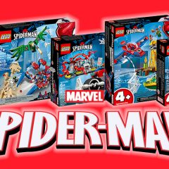 New LEGO Marvel Spider-Man Sets Now Available