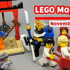LEGO Magazines November Round-up