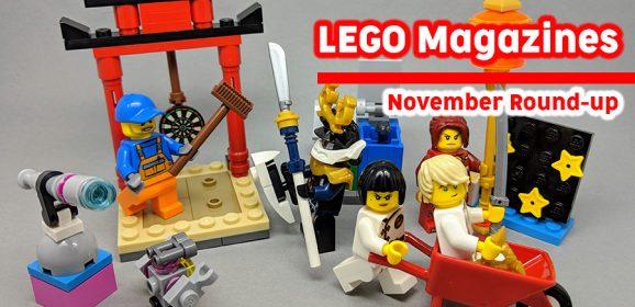 LEGO Magazines November Round-up