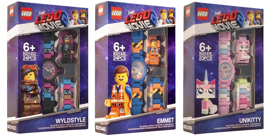 The Lego Movie 2 Watch Range Revealed Bricksfanz