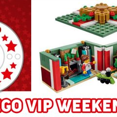 LEGO VIP Weekend Has Begun