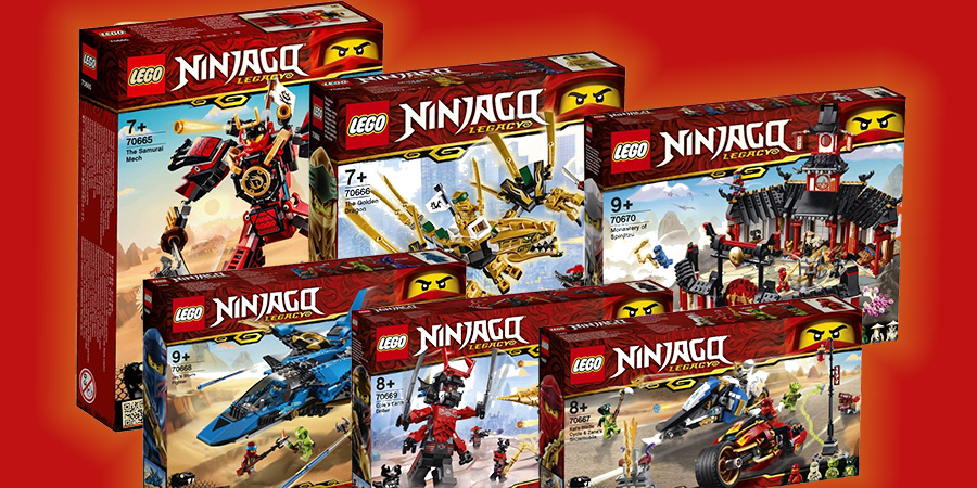 First Lego Ninjago Legacy Sets Revealed Bricksfanz