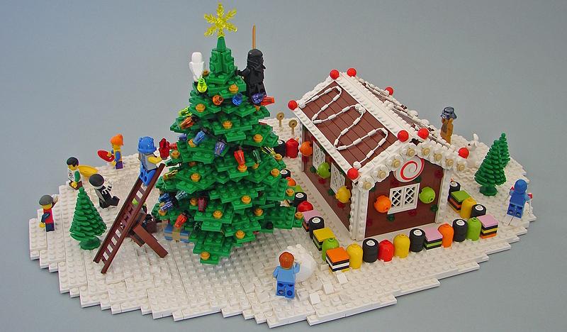 Creative Lego Christmas Mocs Ideas Bricksfanz