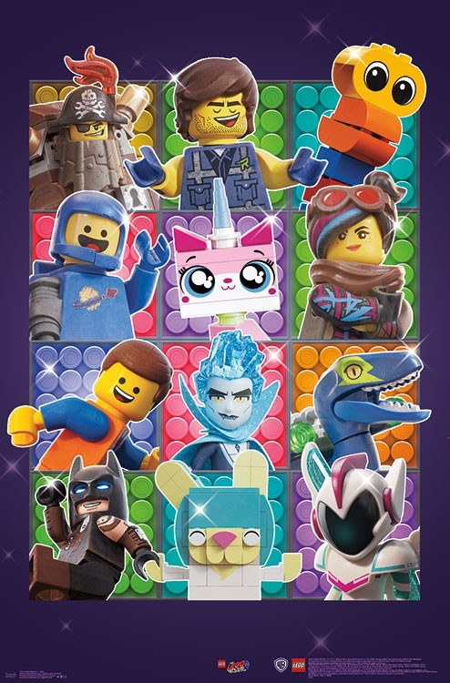 First Look At The LEGO Movie 2 Poster Collection | BricksFanz