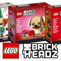 LEGO BrickHeadz Are Back In 2019