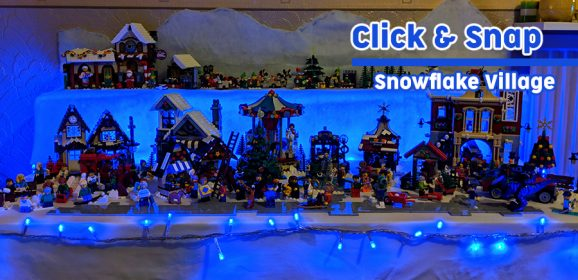 Click & Snap: Snowflake Village 2018