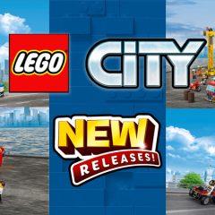 New LEGO City Sets Introduce Fun Play Elements