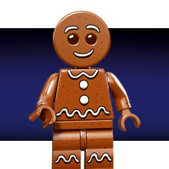 Free Gingerbread Man Minifigure With O2 Priority