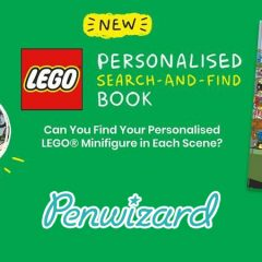 Personalised LEGO Books From Penwizard