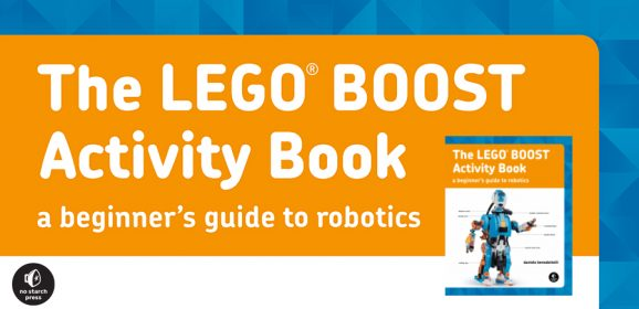 New From No Starch The LEGO BOOST Activity Book
