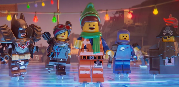 LEGO Movie 2 Short Emmet's Holiday Party