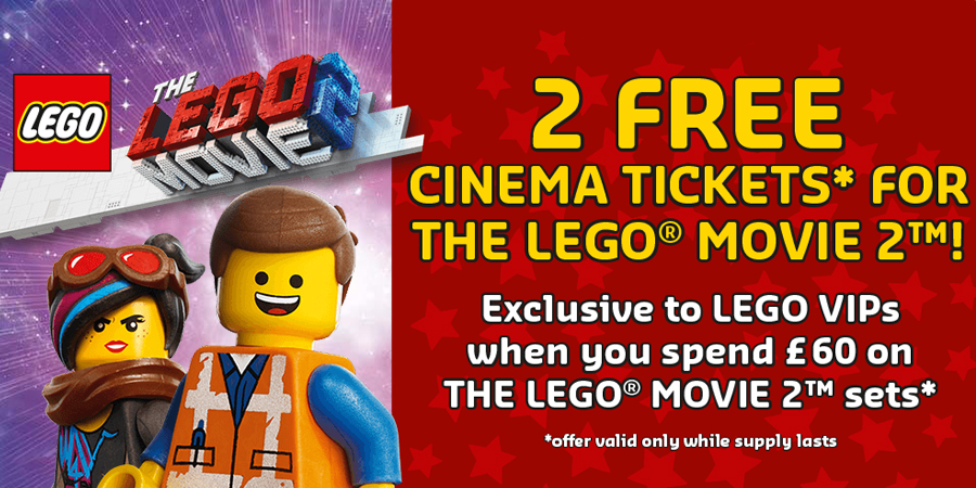 Free Cinema Tickets For The Lego Movie 2 Bricksfanz