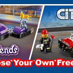 Choose Your Own Free LEGO City Or LEGO Friends Gift