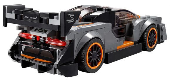 LEGO Speed Champions McLaren Senna Speeds Into Stores