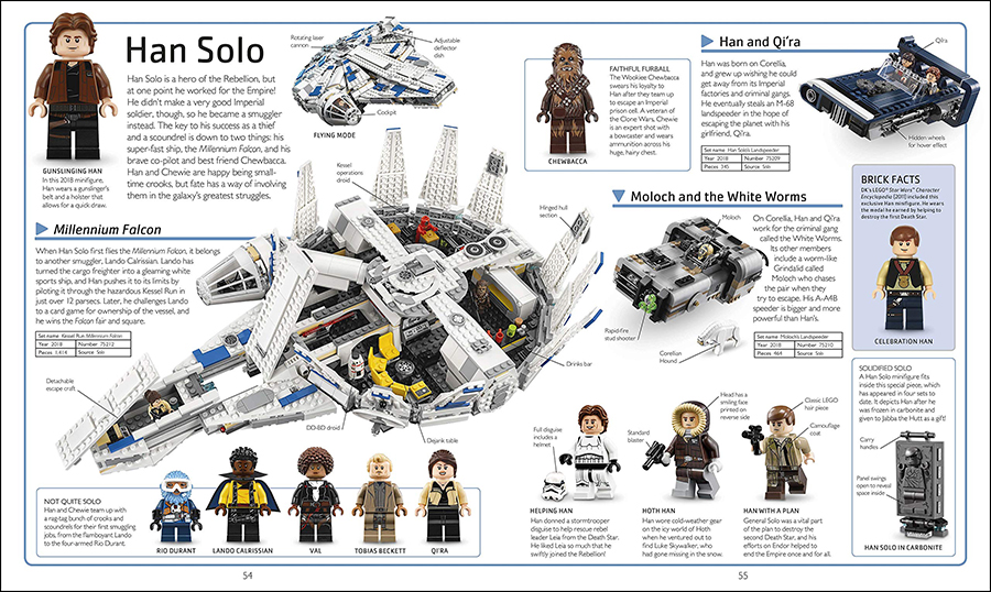 Lego Star Wars Visual Dictionary New Edition Preview Bricksfanz
