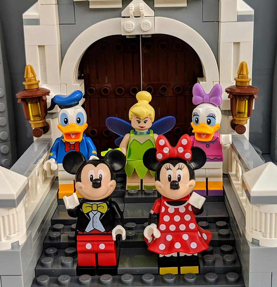 Building The LEGO Disney Castle | BricksFanz