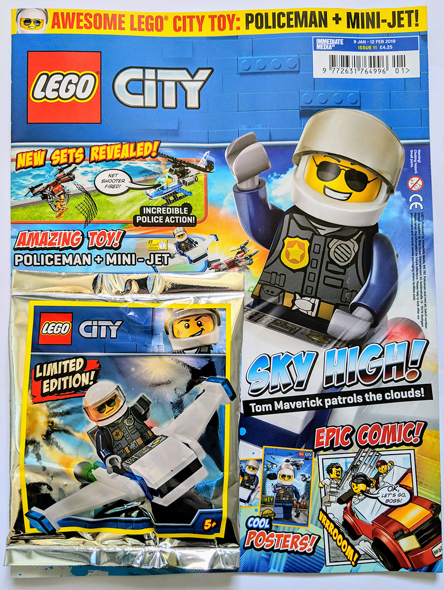 two new lego city magazines out now bricksfanz. Black Bedroom Furniture Sets. Home Design Ideas