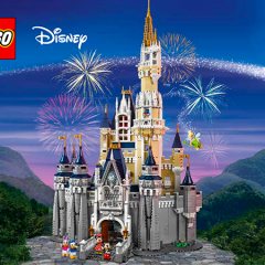 Building The LEGO Disney Castle