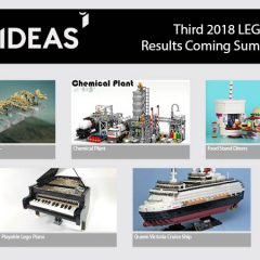 Five Projects Make Third 2018 LEGO Ideas Review