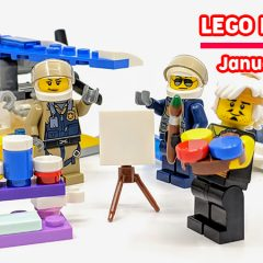LEGO Magazines January Round-up