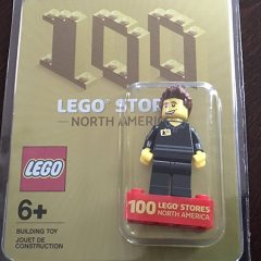 LEGO Celebrates 100 US Stores With Special Minifigure