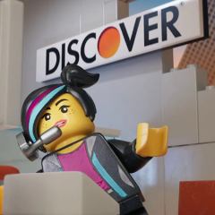 Discover Partners With The LEGO Movie 2