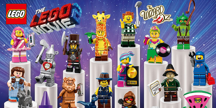 s New LEGO The LEGO Movie 2 Minifigures Series 71023 Pick Your Figure