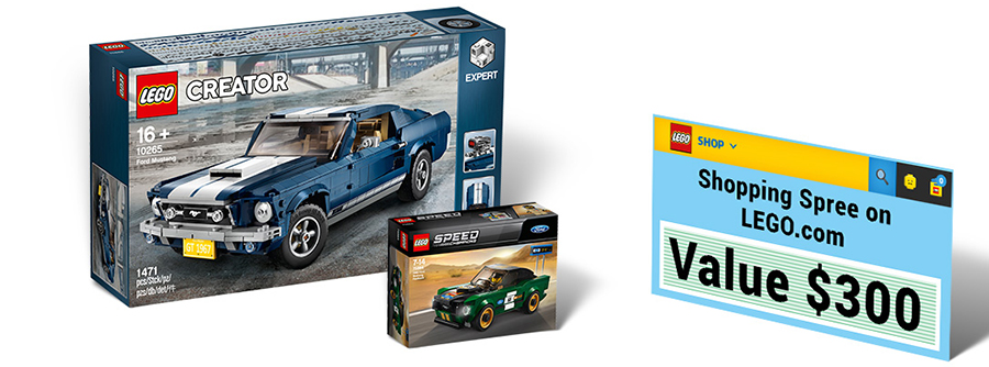 Lego Ideas Contest Design A Ford Mustang Poster Bricksfanz
