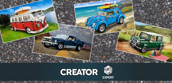 A Look At LEGO…. Creator Expert Vehicles