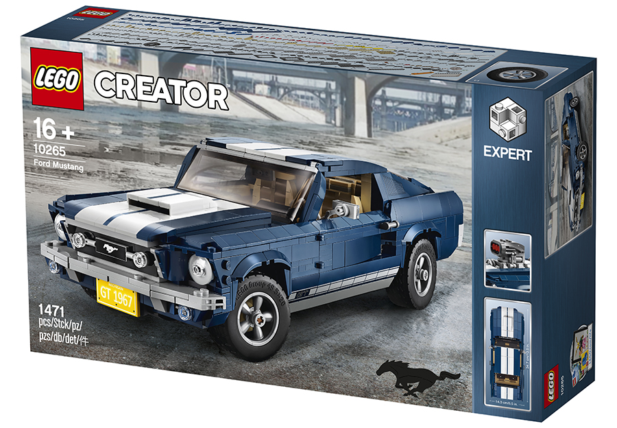 10265 lego creator expert ford mustang set review. Black Bedroom Furniture Sets. Home Design Ideas