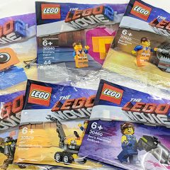 The LEGO Movie 2 Polybags Round-up Review