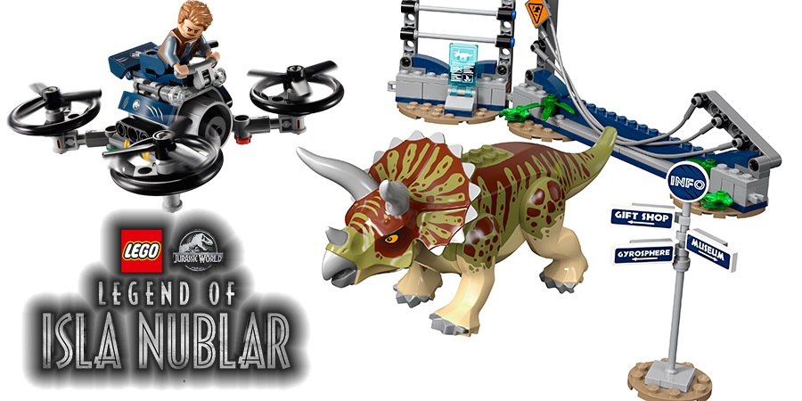 Buy LEGO Jurassic World Triceratops