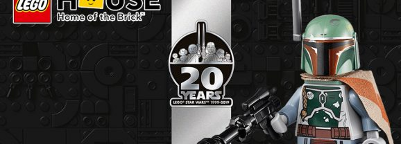 Celebrate 20 Years Of LEGO Star Wars At LEGO House