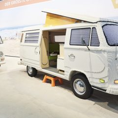 Life-sized VW Camper Built From LEGO Bricks